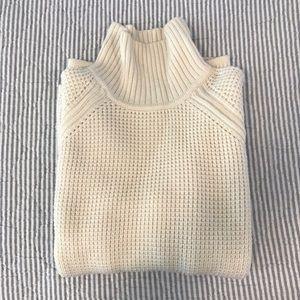 Banana Republic wool blend t-neck sweater